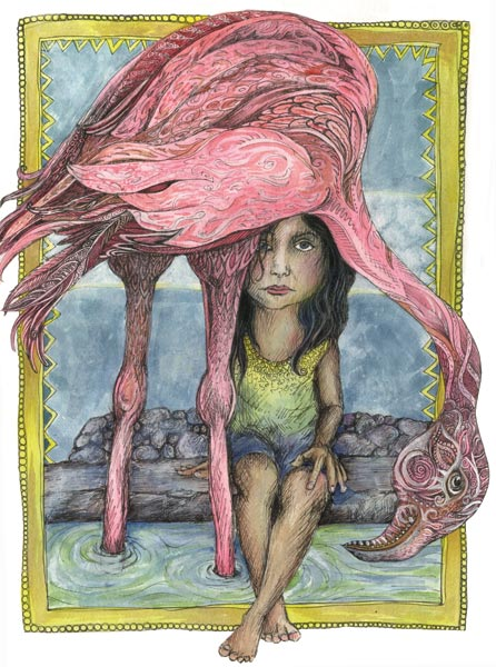 flamingo_girl