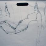 Figure Study 4 Crayon - (5 min) - 9.26.14