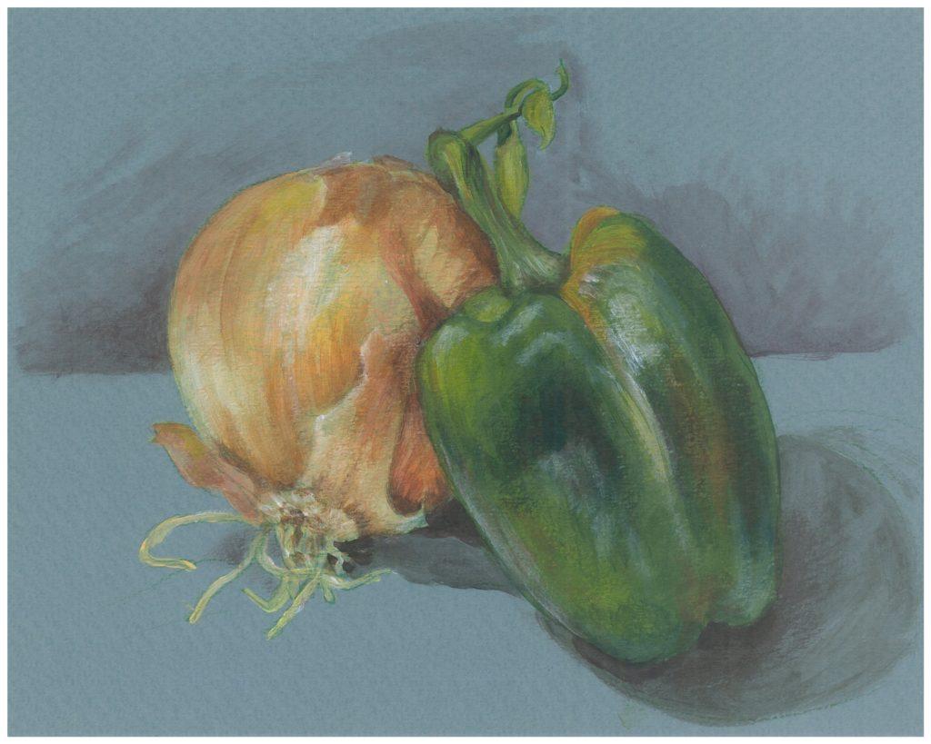 Pepper & Onion