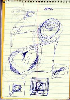 Infinity Moon Sketch
